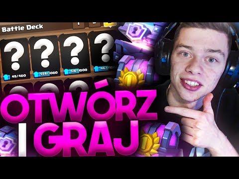 OTWÓRZ I GRAJ! - MAGICAL CHEST + GRAND CHEST!!! CO ZA ODCINEK! Clash Royale Polska