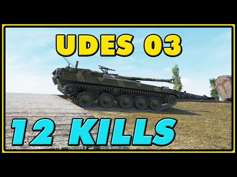 World Of Tanks | UDES 03 - 12 Kills - 8.7K Damage