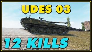 World of Tanks | UDES 03 - 12 Kills - 8.7K Damage