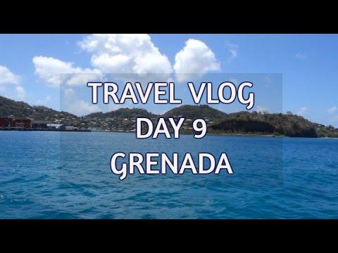 CARIBBEAN CRUISE TRAVEL VLOG | DAY 9 - GRENADA (PART 8)