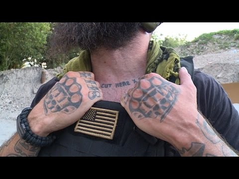 Taking the fight to ISIS: American mercenaries training to f