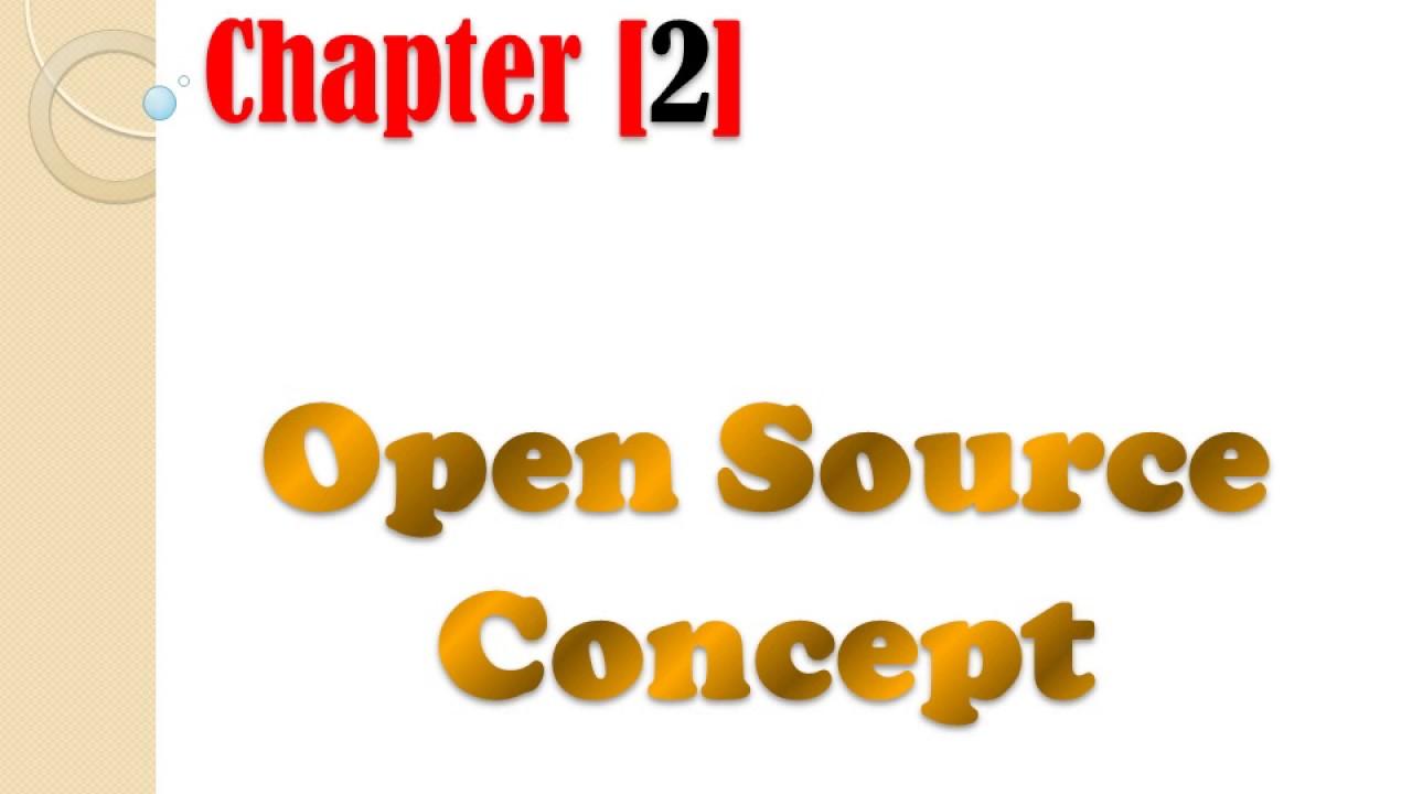 Open source concept