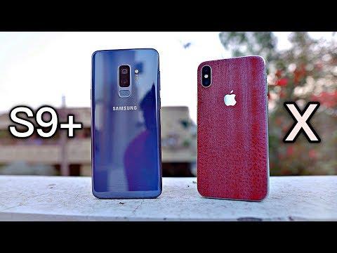 Samsung Galaxy S9 Plus vs iPhone X - Camera Test Comparison!