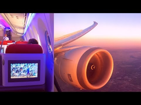 LATAM Boeing 787-9 Dreamliner Business Class Frankfurt - Madrid
