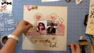 Scrapbook Process #72: Disney Sweet Ice Cream for My Scraps & More
