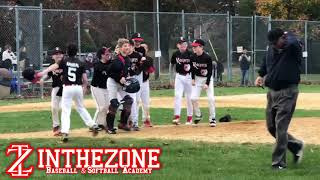 In The Zone 11U and 9U Knights Final Outs - Champions Fall 2019