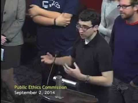 Open Disclosure Oakland Launch Presentation to the City of Oakland Public Ethics Commission