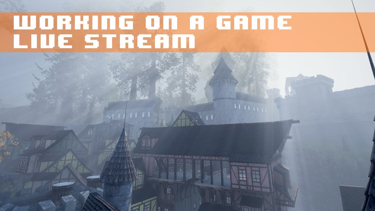 Game Dev & Chill - Retro Game Music, Chatting, & Unreal Engine - Come Hang Out