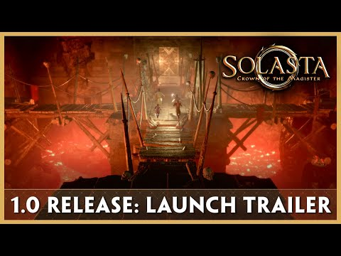 1.0 Release Trailer - Solasta: Crown of the Magister