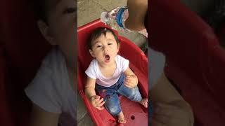 Funny and cute baby
