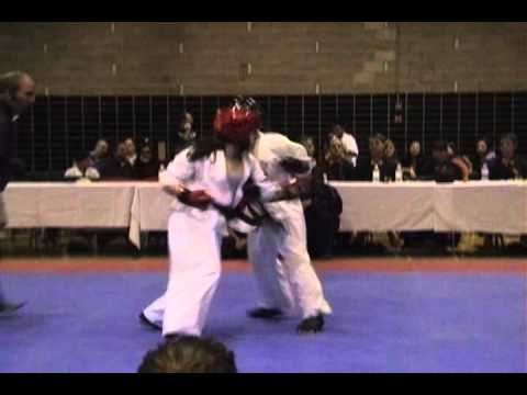 Fighting Spirit 2010,  Kyokushin Canada, Myriam Mansour  Combat#01,