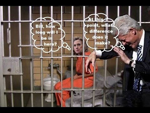 Image result for hillary jail