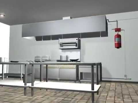 Kitchen Fire Suppression System Installation, Sales,  Inspections