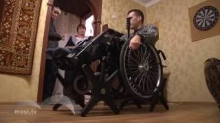 Инвалиду в Липецке подарили современный ступенькоход. Выйти из дома он так и не смог