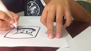 Como dibujar a marshmello