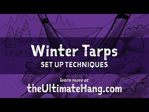 Winter Tarps - Set-up Techniques