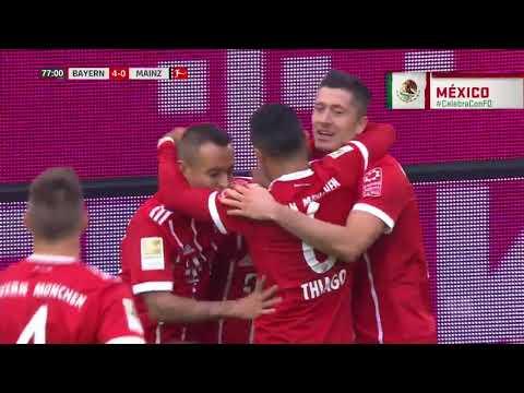 GOL: Bayern Múnich 4-0 FSV Mainz 05