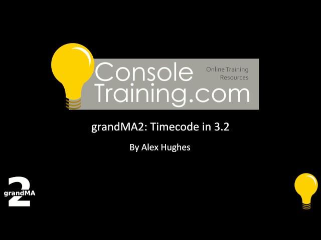 grandMA2: Timecode in 3.2 via Network MIDI