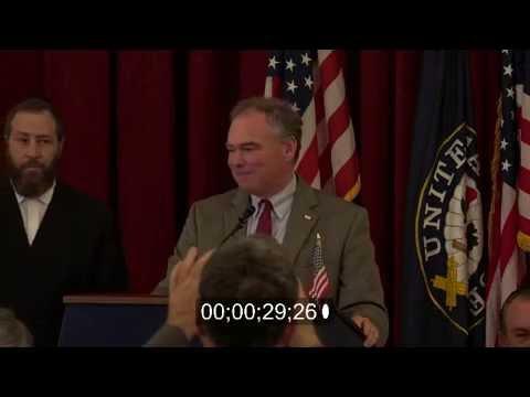 2016 Democratic Vice Presidential Nominee Tim Kaine Discusses Religious Freedom, Immigration