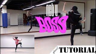 [TUTORIAL] NCT U BOSS — dance chorus tutorial