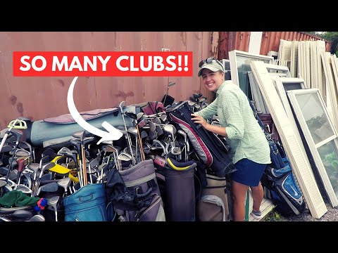 GOODWILL COULDN'T PUT GOLF CLUBS OUT FAST ENOUGH!! (Epic Finds!!!)