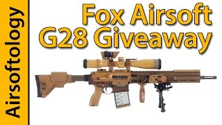 Fox Airsoft G28 Giveaway | Airsoftology Contests