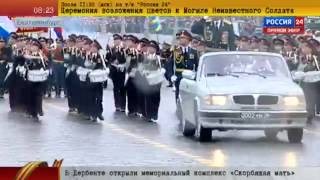 Ekaterinburg. Victory Day parade May 9, 2015  Russia