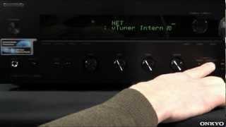 ONKYO TX-8050 Reset auf Werkseinstellungen (Netzwerk-Stereoreceiver)