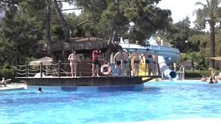 catamaran hotel Kemer. flashmob