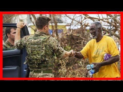 Breaking News | Uk aid teams arrive to help dominica hurricane victims - aol uk news