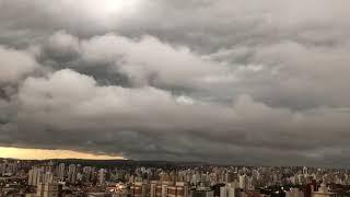 Tempestade sobre Campinas (SP)