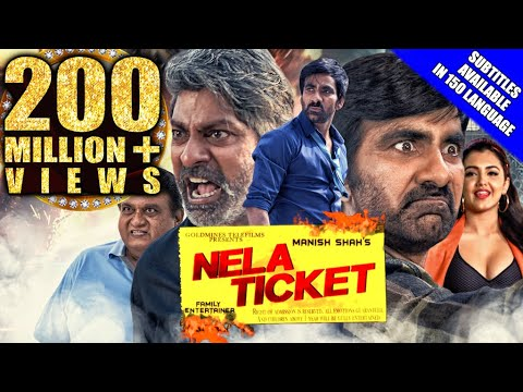 nela-ticket-(2019)-new-released-hind-dubbed-movie-|-ravi-teja,-malvika-sharma,-jagapathi-babu