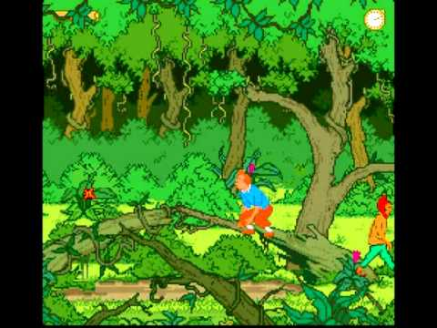 RVLVJ - Tintin Le temple du soleil - Super Nintendo