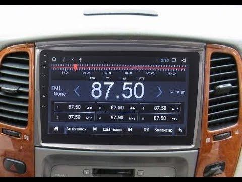 Штатная магнитола Toyota Land Cruiser 100 (2003-2008), Lexus LX-470 Android ZOY-4700