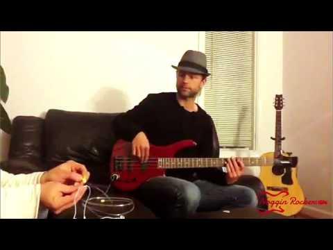 Noggin Rockers- Pocket Guitar Amp- Bass Demo