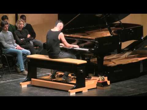 Cameron Carpenter's encore - Vicenza, Italy