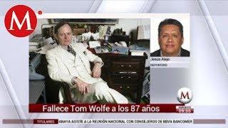 Murió Tom Wolfe, padre del nuevo periodismo