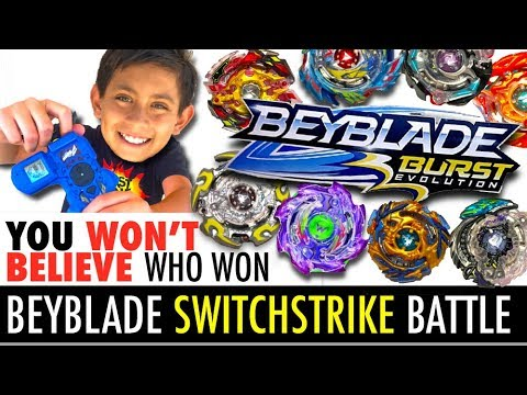 Best Beyblade Switchstrike Battle!  New...