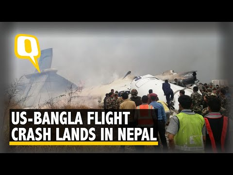US-Bangla Flight Crashes in Kathmandu, Nepal With 71 On Board, 30 Rescued