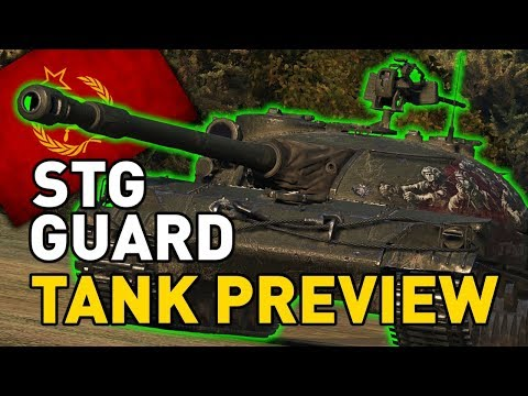 World of Tanks || STG Guard - Tank Preview