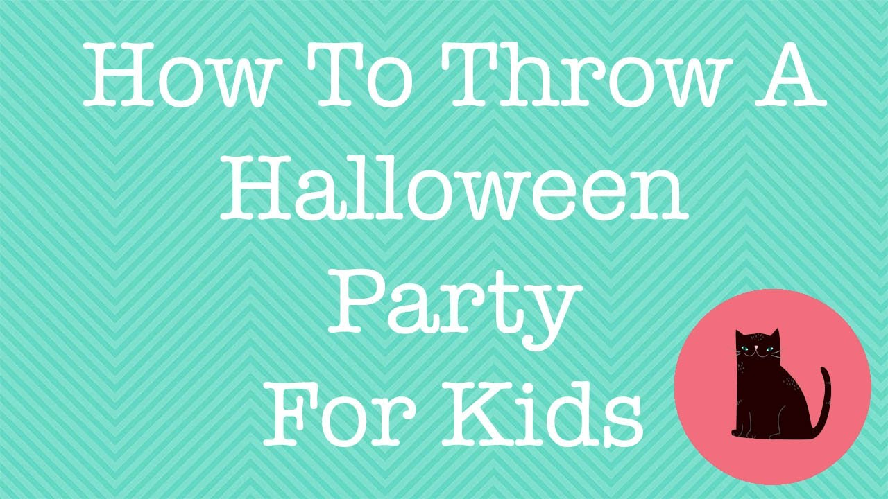 how to throw a kids halloween party in 5 easy steps - Throw A Halloween Party
