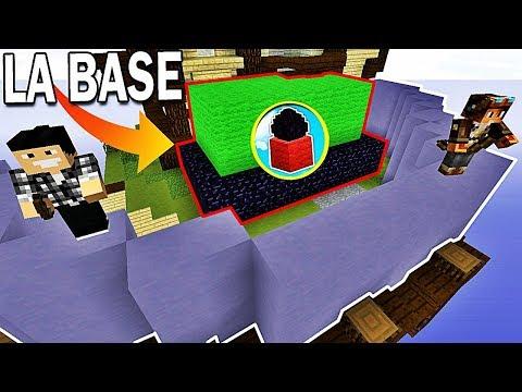 LA PLUS GRANDE BASE SÉCURISÉE DE MINECRAFT ! | Minecraft Egg Wars