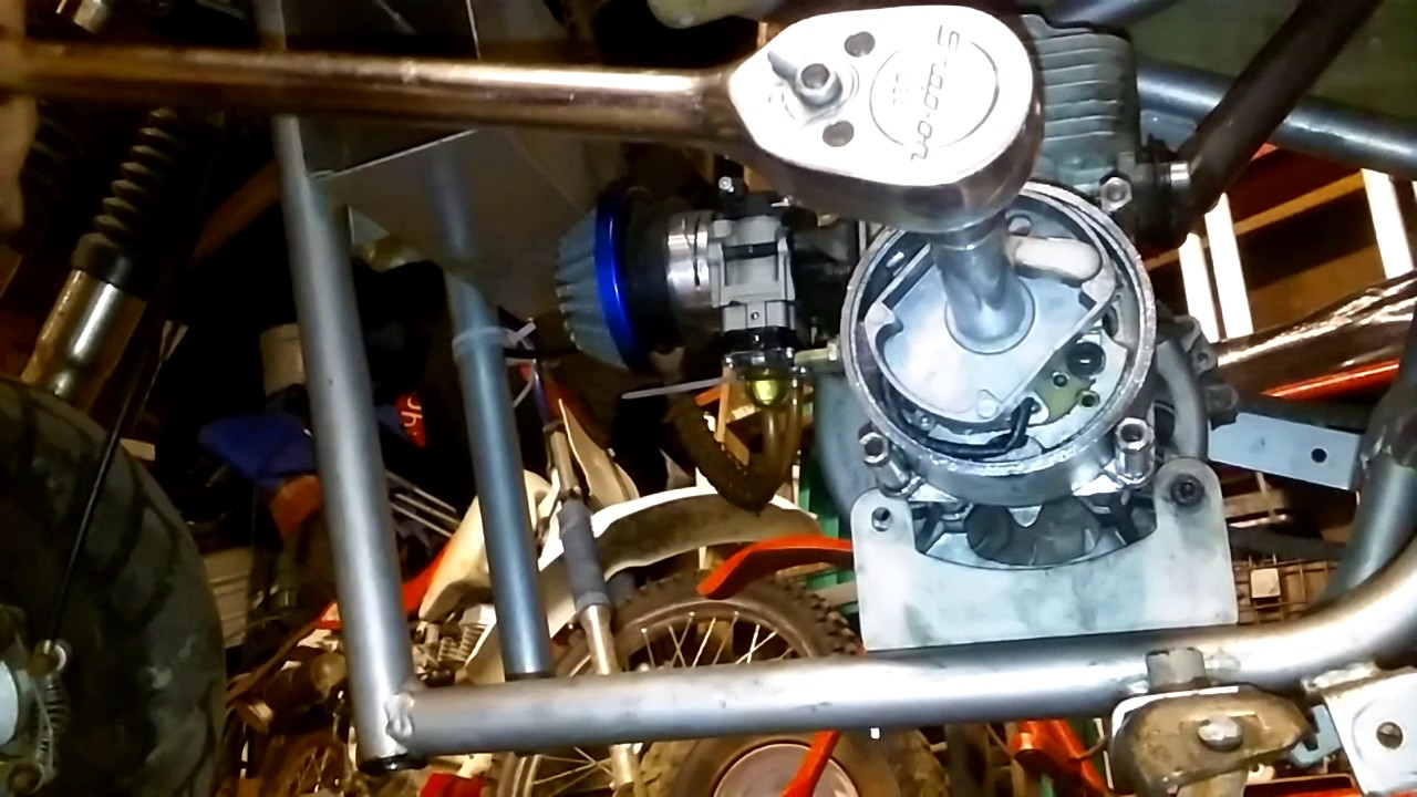 How To Fix A Pocket Bike Pull Start That Won T Pull Motor Back
