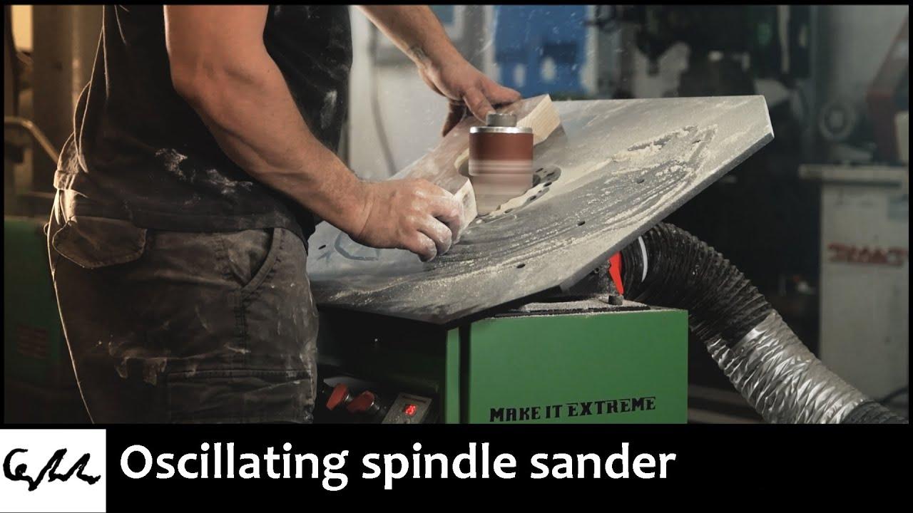 Making a spindle sander