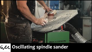 Making a spindle sander