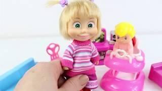 Masha Bebek Bakıyor Eğlenceli Çocuk Videosu Çizgi Filmler