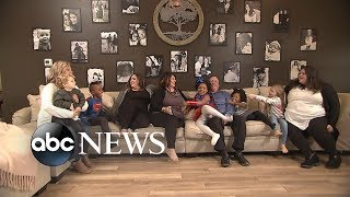 Family adopts 4 siblings to complete their family of 12