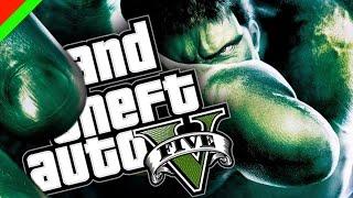 Grand Theft Auto V - ยักษ์เขียวจอมพลัง The Incredible Hulk (GTA V Mod,ตลก,ฮา)