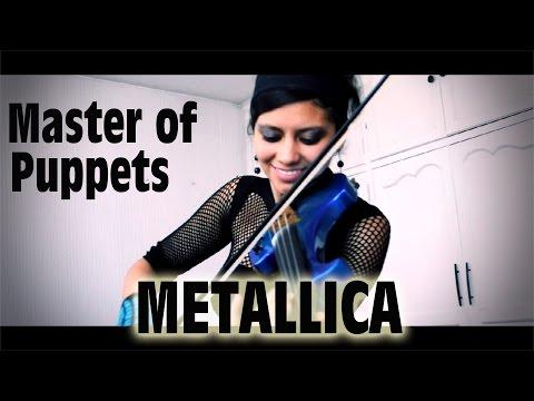 Master of Puppets 💿en VIOLIN ELECTRICO!! (Metallica)(Con SOLOS)