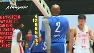 Vince Carter DUNKING in Yao Ming Charity game in HONG KONG (2017)